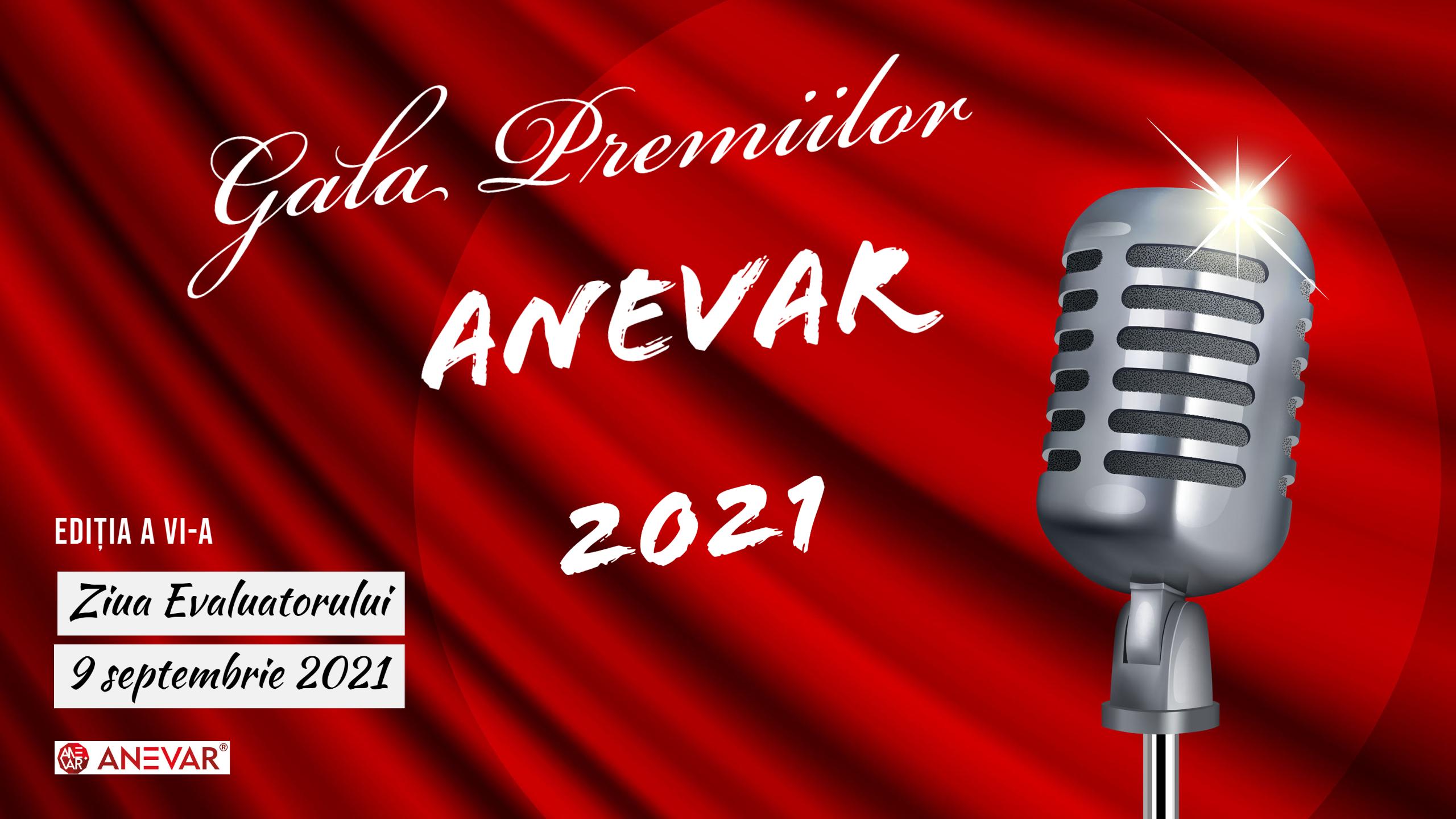 Gala Premiilor ANEVAR 2021