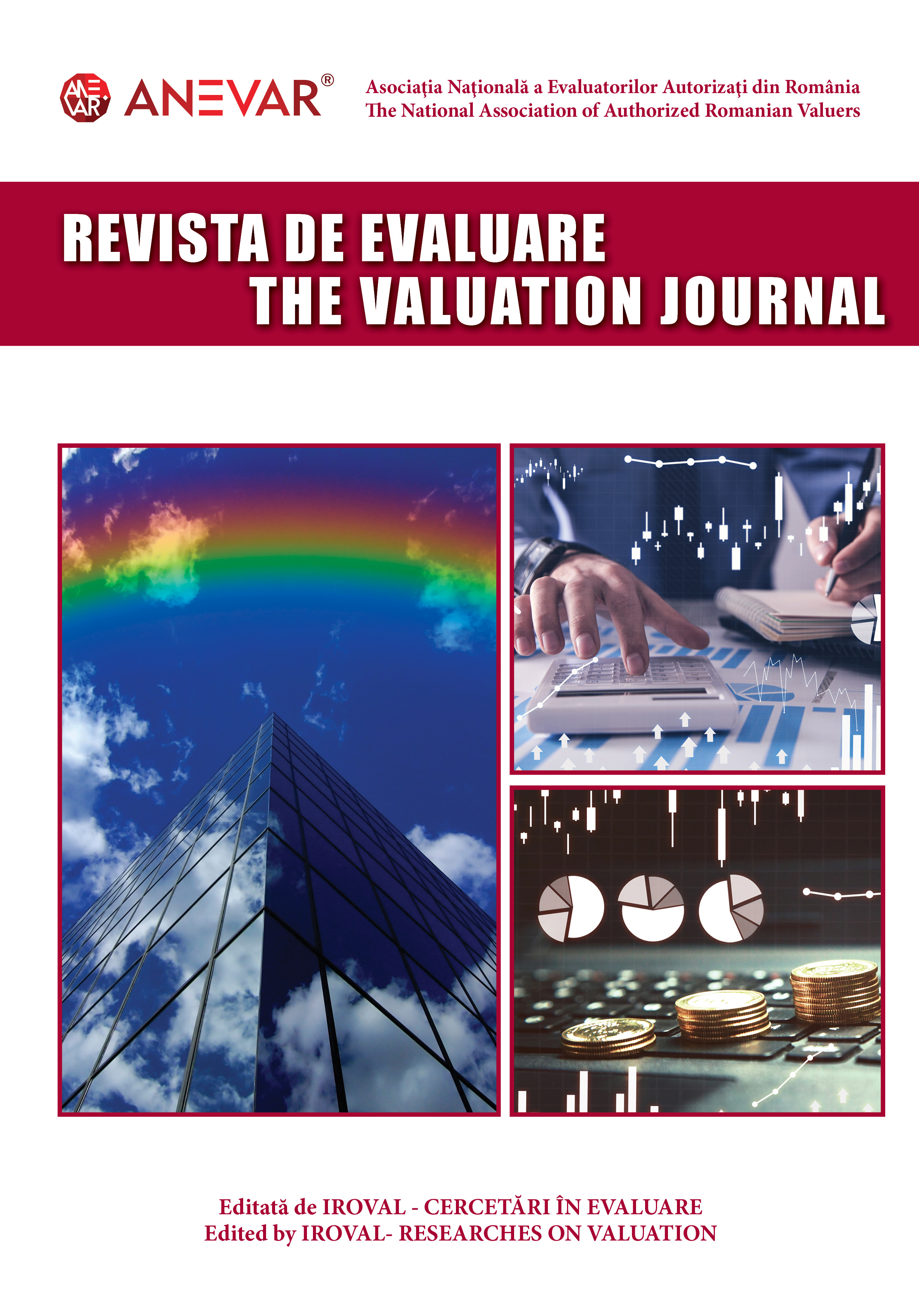 Call for papers pentru Revista de Evaluare/The Valuation Journal (ISSN 2668-9693, ISSN-L 1842-3787)